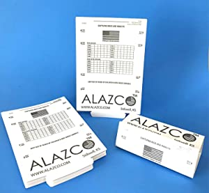 ALAZCO 6 Glue Traps - Excellent Quality Glue Boards Mouse Trap Bugs Insects Spiders, Brown Recluse, Crickets Cockroaches Lizard Scorpion Mice Trap & Monitor Non-Toxic Made in USA