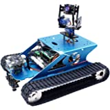 Yahboom Professional Raspberry Pi AI Robot Kit with Camera Programming Electronic DIY Tank Robotics Kit for Teens and Adults