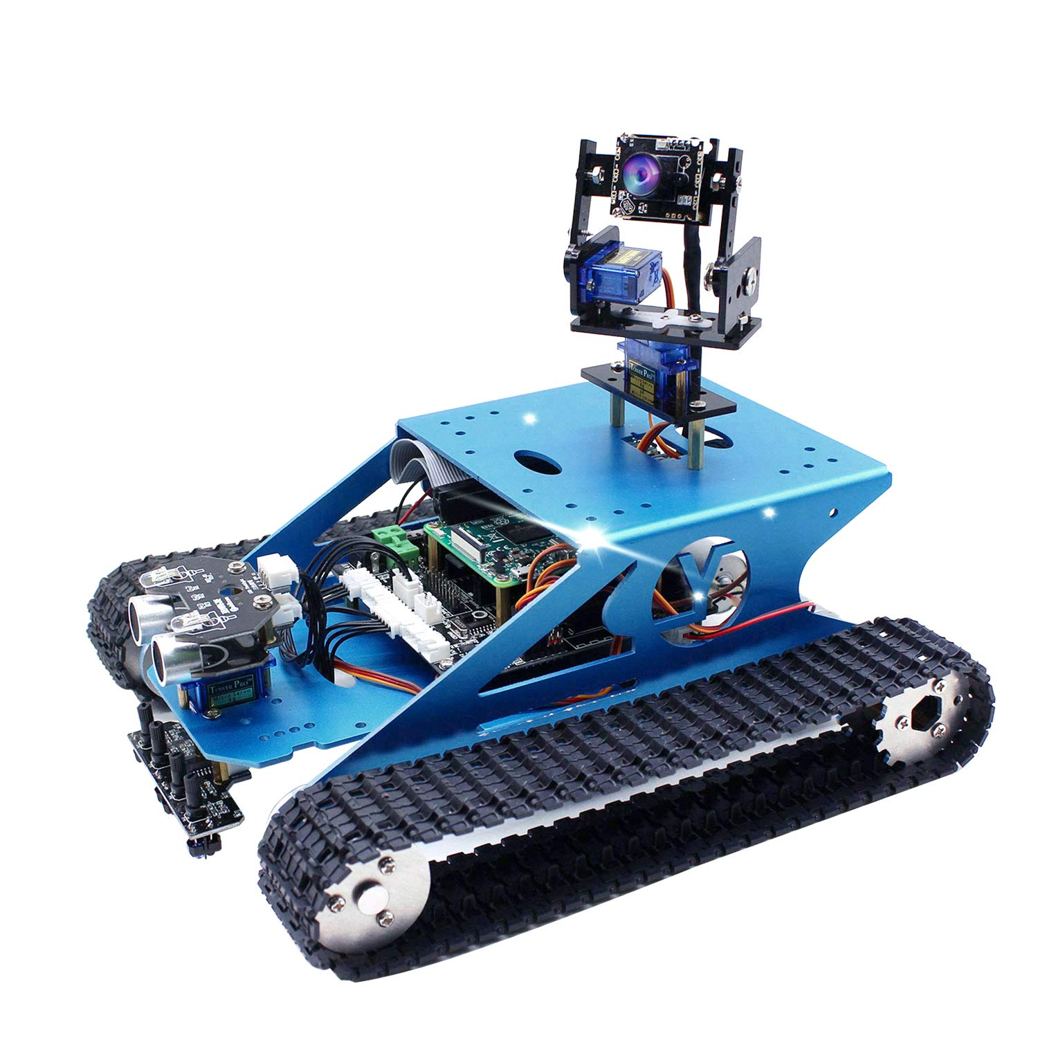Robot Educativo para armar y programar Raspberry Pi (no inc)