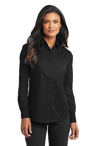 Port Authority Women's Long Sleeve Value Poplin Shirt