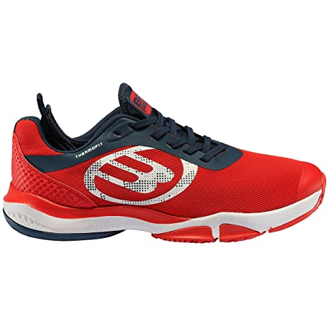 Bull padel Vertex Light Rojo Zapatillas, Adultos Unisex, 43 EU ...