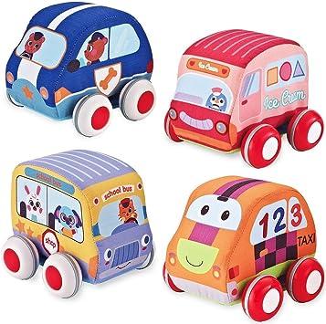 Random Cartoon Baby Pull line Phone Car Toys Educational Developmental Kid Gift