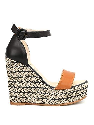 85646feb4a3 Amazon.com   Espadrilles Women's Nailvegecueroneg Orange/Black ...