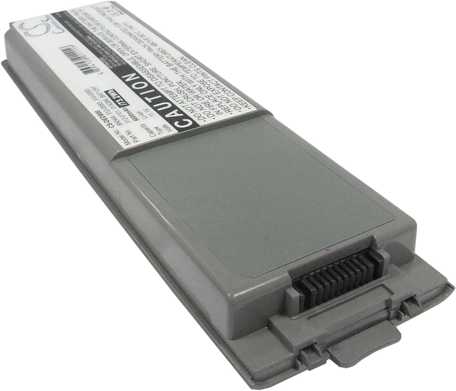 GAXI Battery for DELL Inspiron 8500, Inspiron 8600, Latitude D800 Replacement for P/N 01X284, 2P700, 310-0083