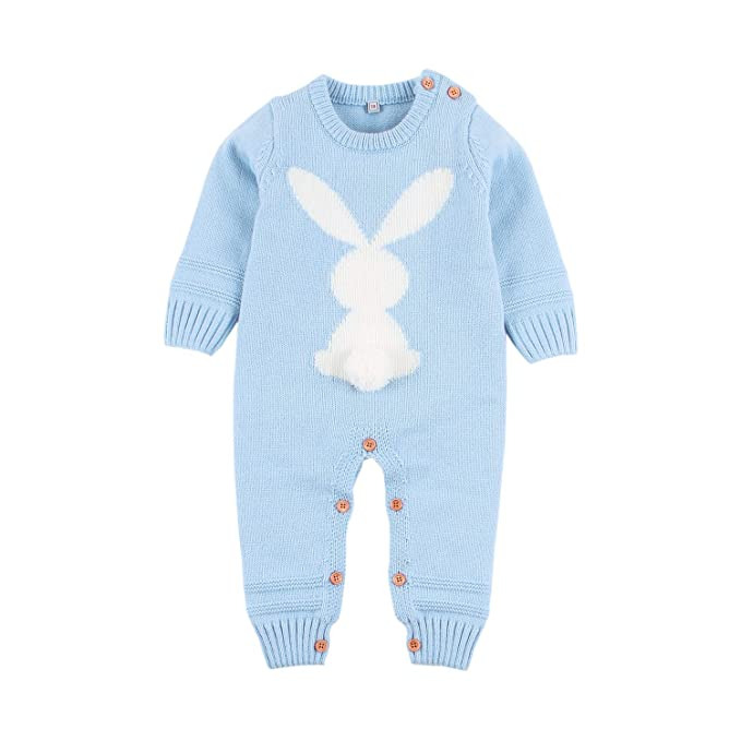 39bbeabc01aa mimixiong Baby Kids Girl Boy Romper Jumpsuit Easter 3D Bunny Outfits  Clothes  Amazon.co.uk  Clothing