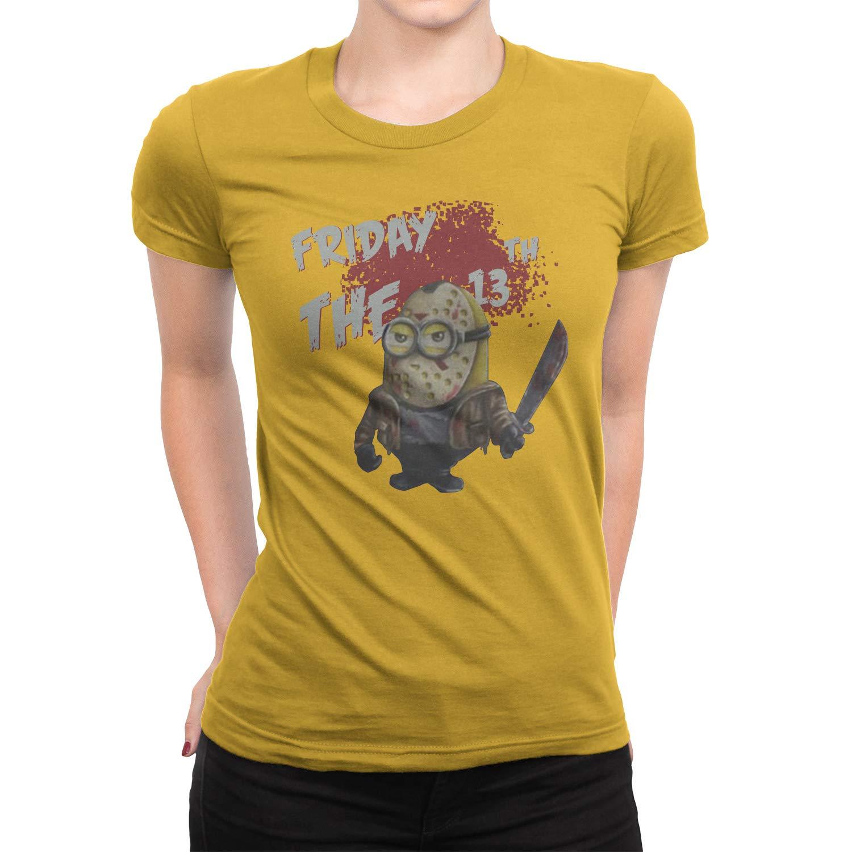 Sleeky Minion Halloween Jason Friday 13th T-Shirt