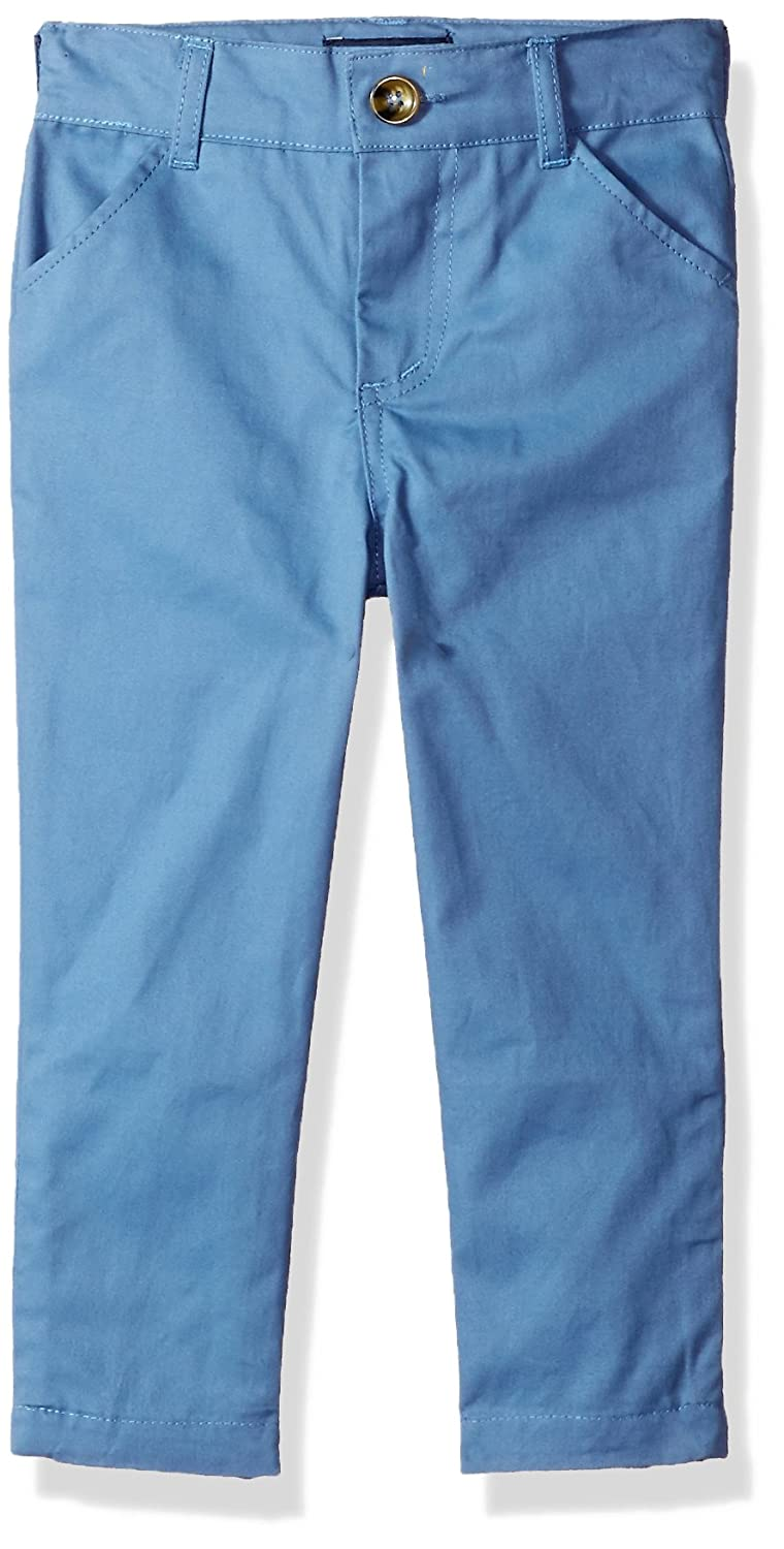Andy /& Evan Boys Twill Pant-Toddler 6Y Blue