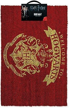 Amazon.com: Bienvenido a de Harry Potter Hogwarts Puerta Mat ...