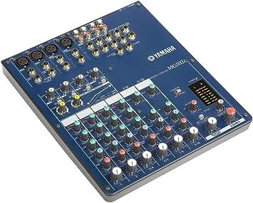 Yamaha MG102C Mesa de Mezcla Analógica de 10 canales ...