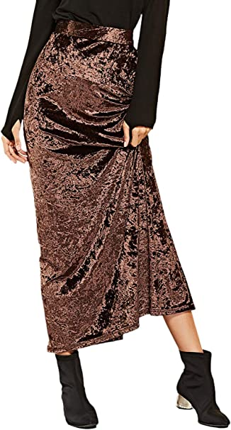 Faldas Mujer Verano Chic Abiertas Falda Fashion Elegante Mode De ...