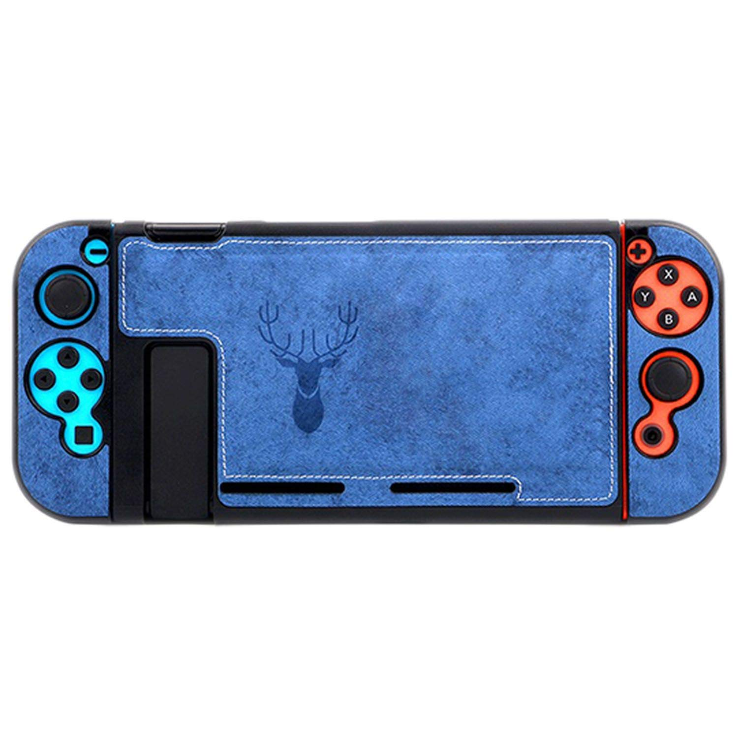 Cloth Case for Nintendo Switch Protective Cover Case for Nintendo Switch Console NS Accessories Bag for Nintendo Switch Case,Blue