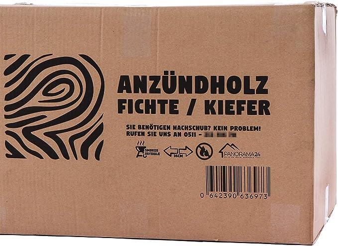 BBQ 30kg Anfeuerholz Anz/ündholz Anz/ündhilfe f/ür Kamin Kaminholz Grill Brennholz Smoker Anmachholz