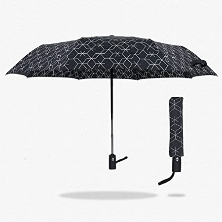Paraguas HUXIUPING Lleno automático del Caballero del ...