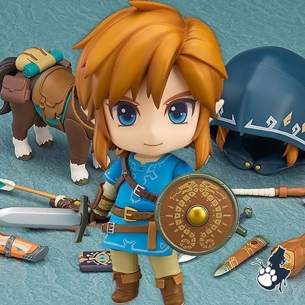 Anime Nendoroid 733 The Legend of Zelda link PVC Figure New No Box 10cm