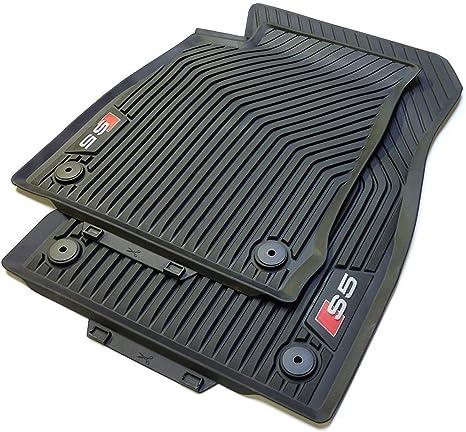8w7061221a 041 Original Audi s5 caoutchouc tapis caoutchouc tapis de sol avant noir