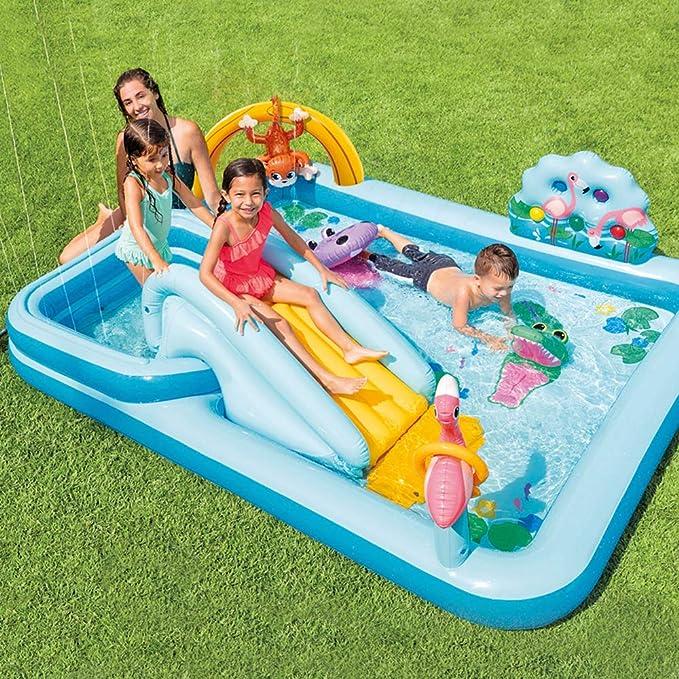 Intex 57161NP - Centro de juegos aventura acuática en la jungla ...