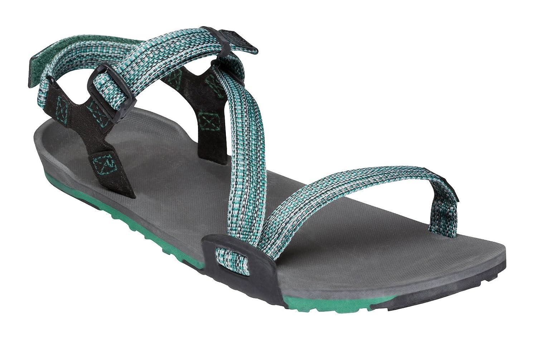 Xero Shoes Z-Trail Lightweight Sandal - Barefoot-Inspired Hiking, Trail, Running Sport Sandals - Women's B071Y1TLD4 5 B(M) US|Multi-blue