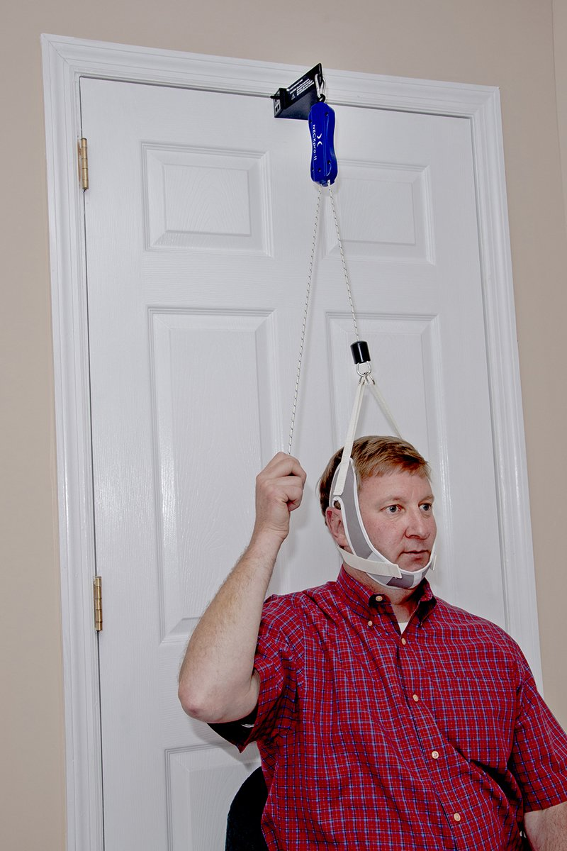 NeckPro Overdoor Cervical Traction - System