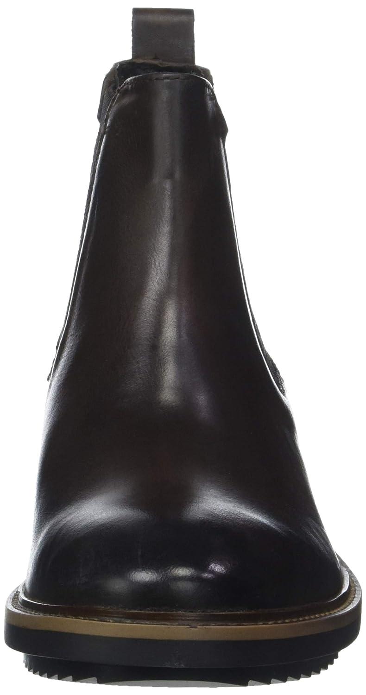 Base London Herren Dalton Chelsea Boots, 251) schwarz Braun (Burnished Cocoa 251) Boots, ae137c