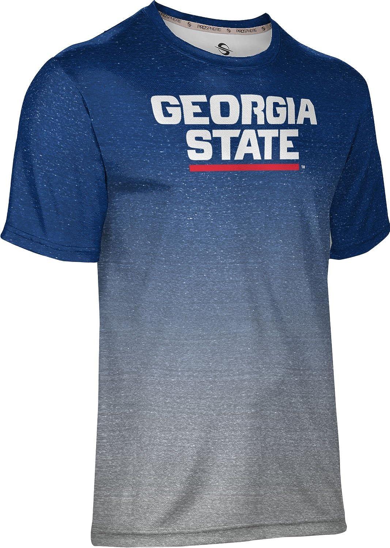 Distressed ProSphere Georgia State University Mens Fullzip Hoodie