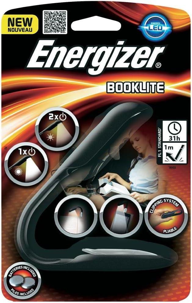 Energizer Readerlite Leseleuchte Klemmleuchte Stilleuchte Für Bücher E Book Reader Inkl 6x Panasonic Cr2032 Ersatzbatterien Elektronik