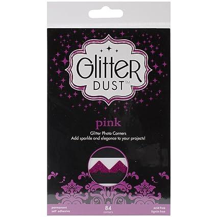 Black Nickel iCraft Therm O Web Glitter Photo Corners