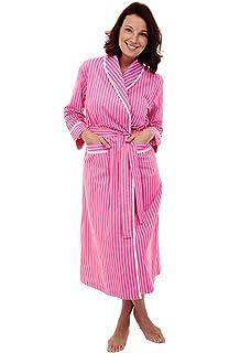 25dead0ad4 Vraquir Womens Waffle Bathrobe 3 4 Long Sleeves Kimono Lightweight ...