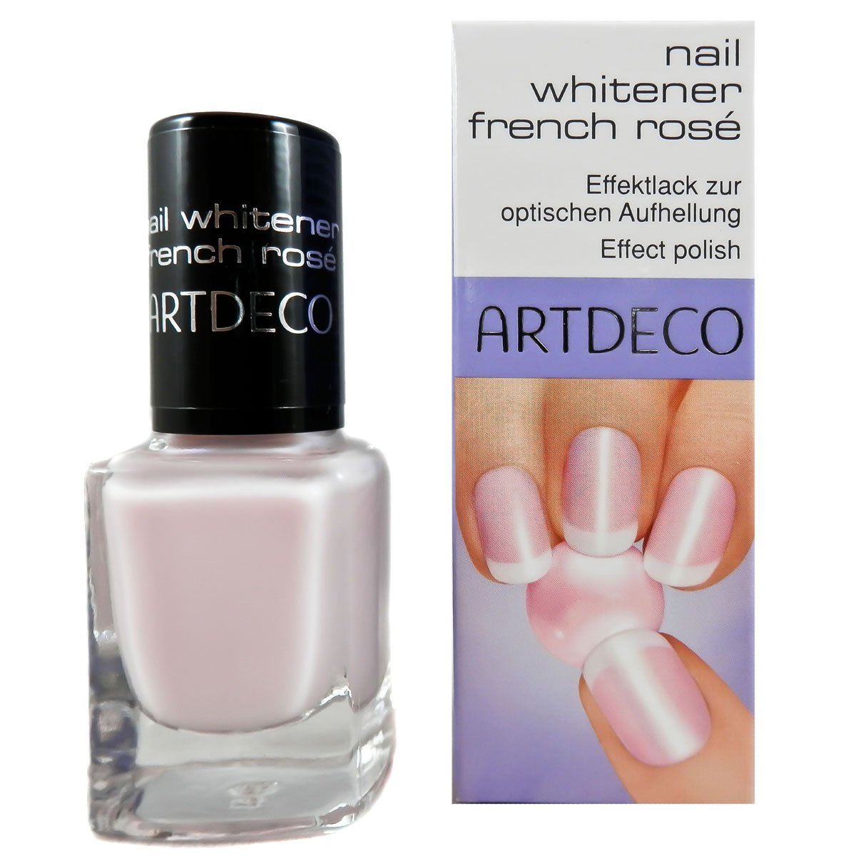 Artdeco Nail Whitener French Rose, 1er Pack (1 x 10 ml) 4019674618721
