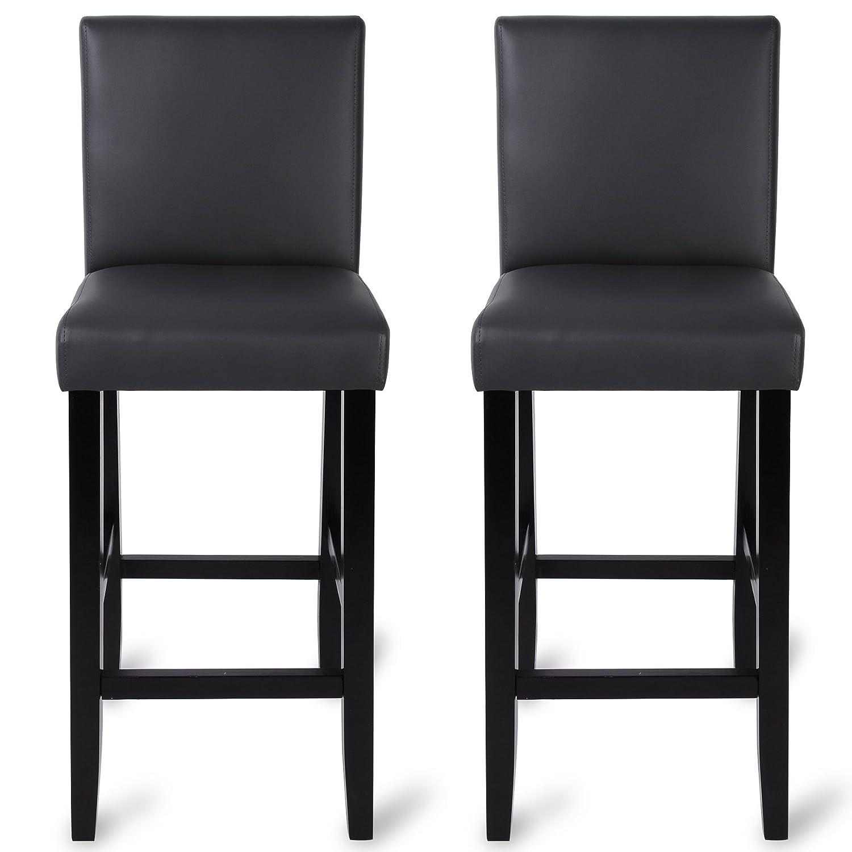 tabouret de bar avec pied en bois. Black Bedroom Furniture Sets. Home Design Ideas