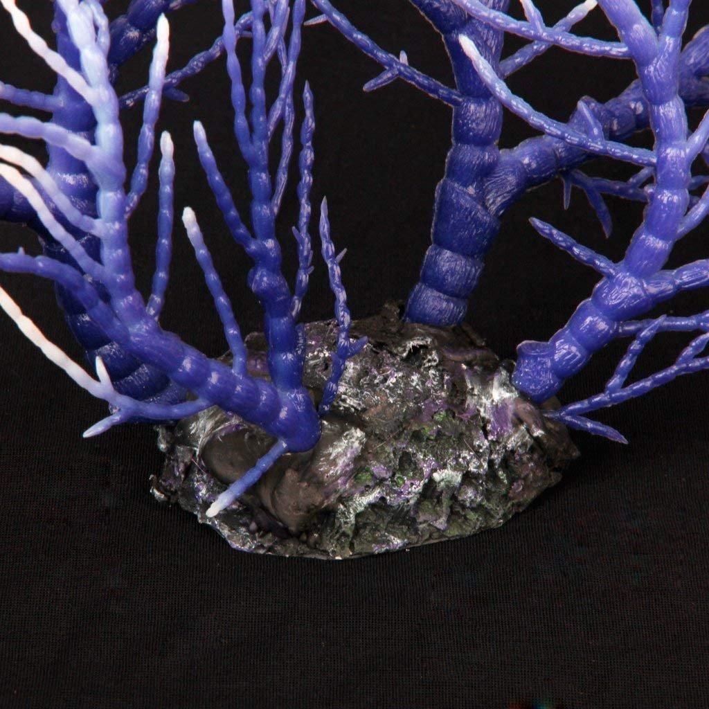 Runfon Artificial Coral Ornament Underwater Aquatic Plant Aquarium Fish Tank Decoration