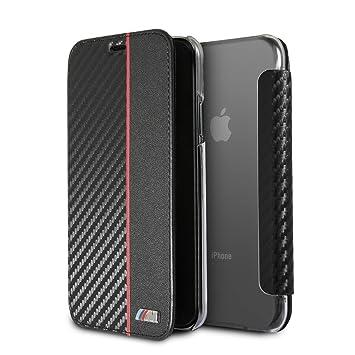 BMW - Carcasa rígida de Fibra de Carbono para Apple iPhone X ...