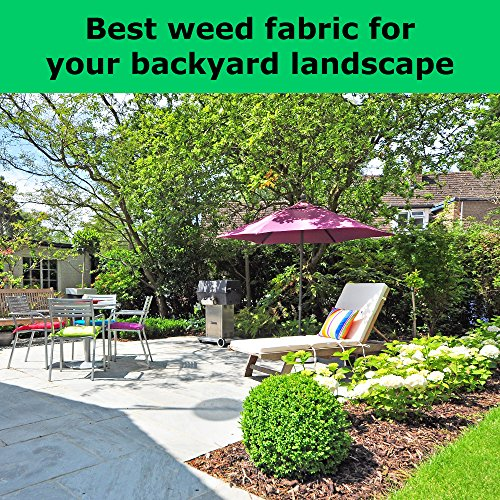 Commercial Landscape Fabric: Weed Barrier Landscape Fabric
