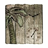 """Taylor Products 12"""" x 13"""" Palm Tree Poly Resin"""