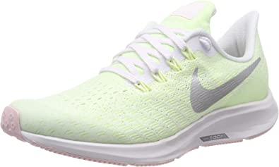 Nike Air Zoom Pegasus 35 (GS), Zapatillas de Running para Niños, Multicolor (White/Metallic Silver/Barely Volt 100), 33 EU: Amazon.es: Zapatos y complementos