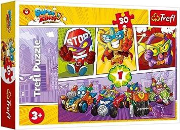 TREFL SuperZings 30 el. [Puzzle]: Amazon.es: Juguetes y juegos