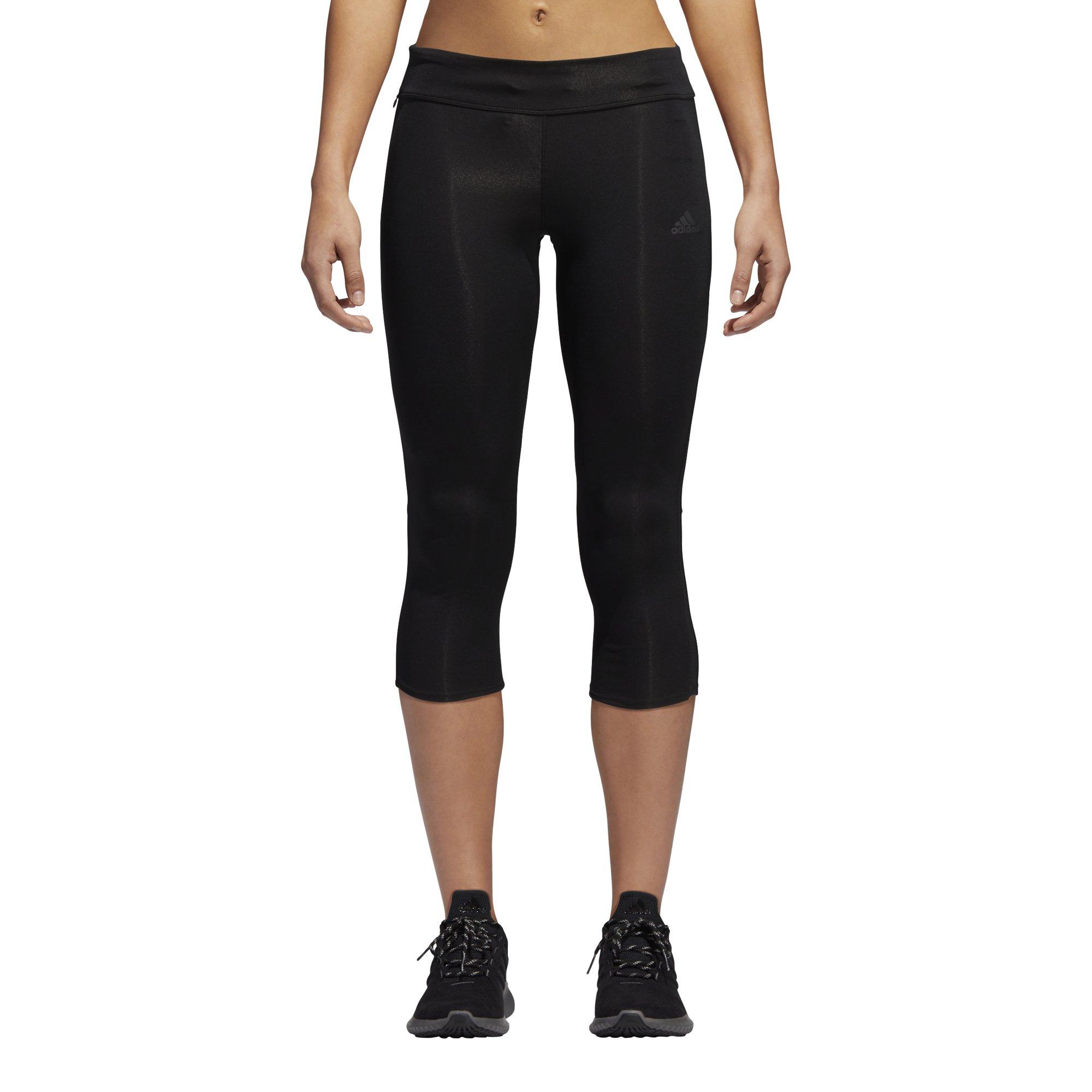 adidas Women's Response Tights, Black/Black, X-Small