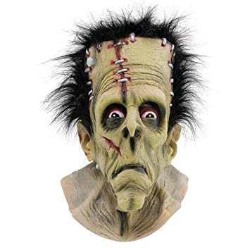 Halloween FRANKENSTEIN MASK OVER HEAD MASK (máscara/careta)