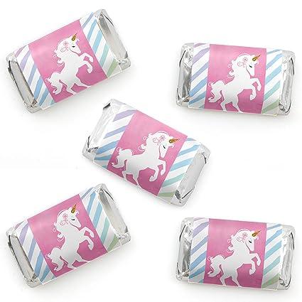 Amazon.com: Rainbow Unicorn – Mini pegatinas de papel de ...