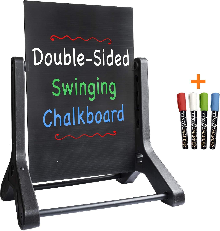Swinging Chalkboard Message Sidewalk Sign: 24