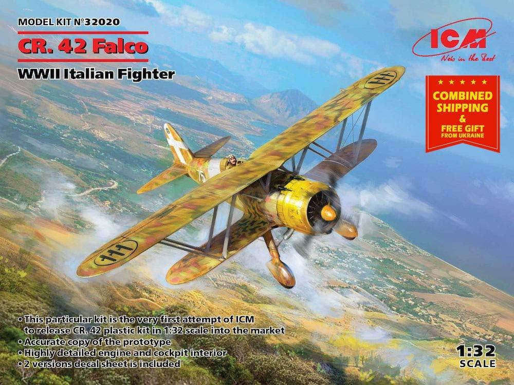 42 Falco CR WWII Italian Fighter ICM 32020-1//32