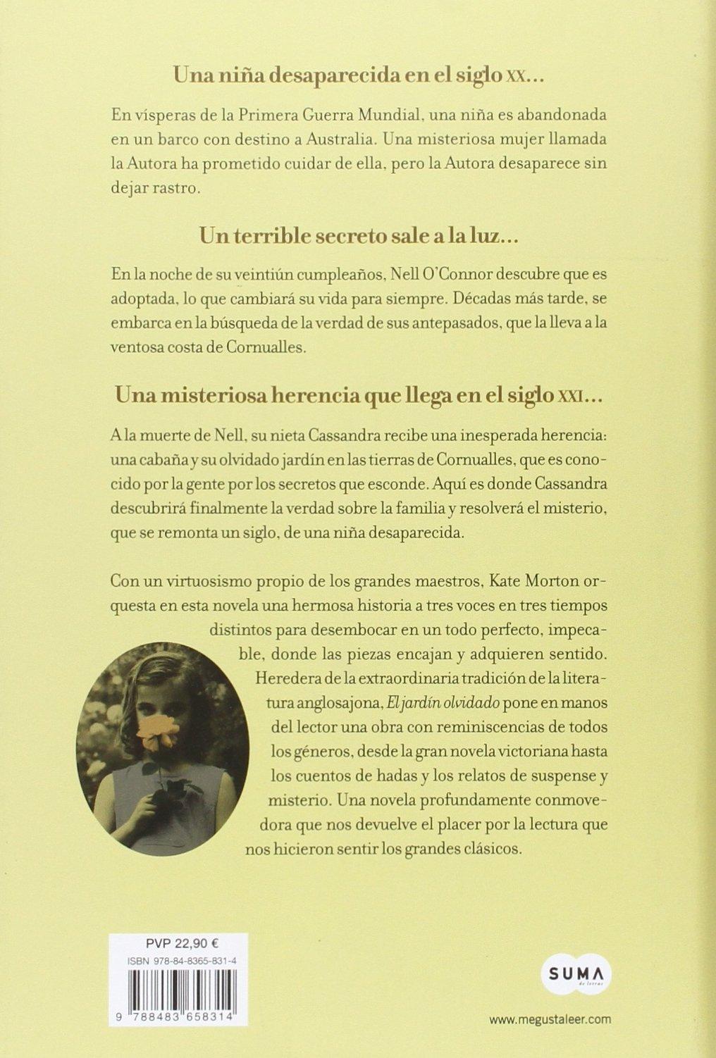 El Jardín Olvidado Edición especial regalo Femenino singular: Amazon.es: Morton, Kate: Libros