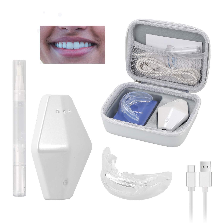 Amazon Com Ouisisi Led Teeth Whitening Kits Home Professional