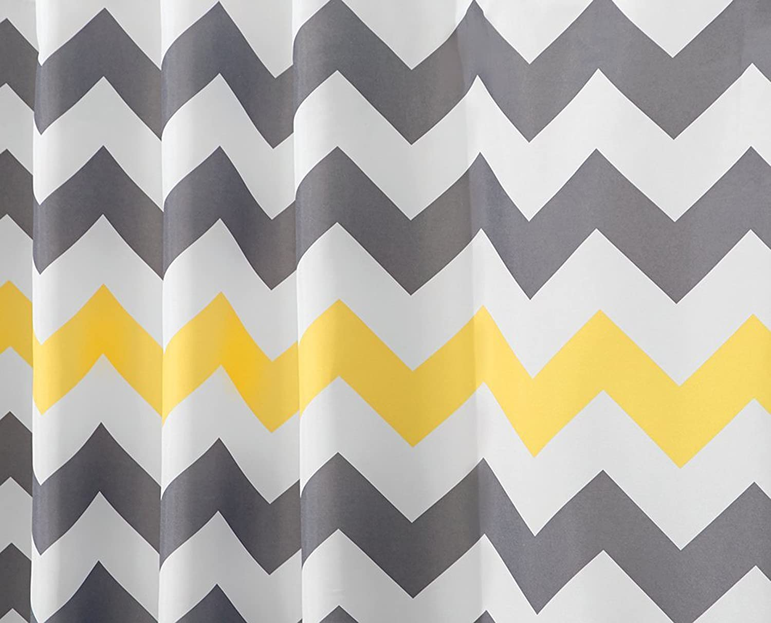 Yellow and gray shower curtain - Amagical 4 Piece Bath Set Shower Curtain And 3 Mats Bathroom Mat Pedestal Rug Toilet Seat Cover 100 Microfiber Cotton Gray And Yellow