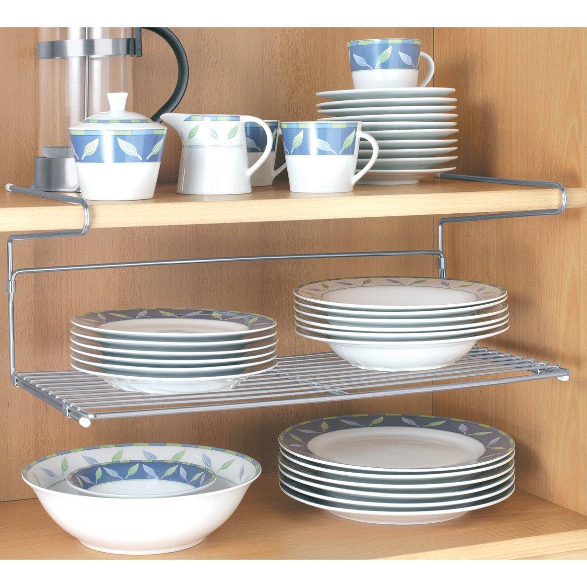 Amazon.de: Tellerregal Hängeregal Tellerhalter Küchenregal Regal