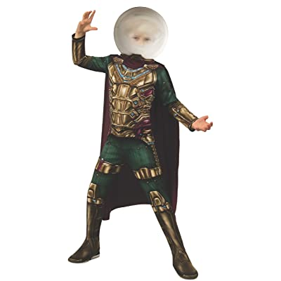 Rubie's Marvel Spider-Man Far from Home Child's Mysterio Costume, Small: Toys & Games