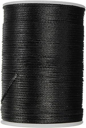 Hilo Encerado Cordon Cuero Reparacion de Cera de la Mano Coser Costura Artesanía DIY - 0.8mm (Marrón): Amazon.es: Hogar