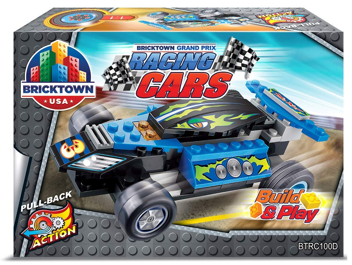 Bricktown USA Yellow JMW Toys Inc Grand Prix Racing Car