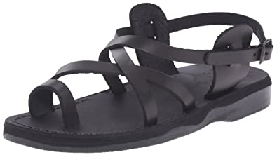 b7b75af1f3a9 Jerusalem Sandals Women s The Good Shepherd Buckle Toe Ring Sandal