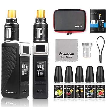 Salcar V60 Mod kit/Cigarrillo Electrónico Starter Set y 5 x ...