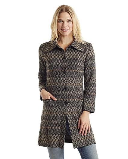 Invisible World Women s Baby Alpaca Wool Cardigan Button Up Sweater Coat S 177896a4a